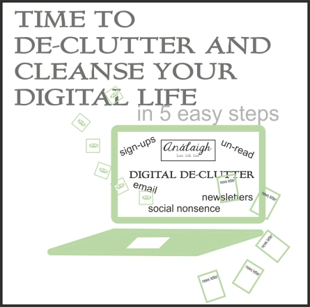 digital declutter