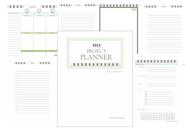 My Prjoct planner promo 1