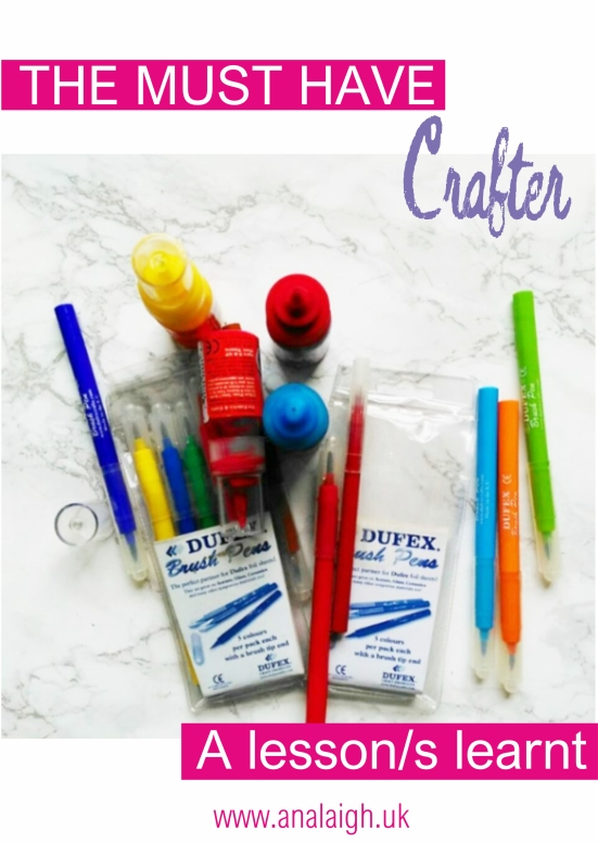 A crafters must have cover
