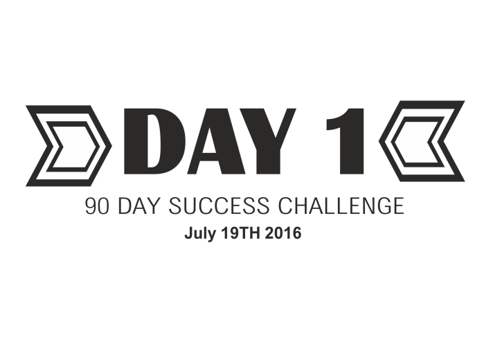 90 day success challenge day 1