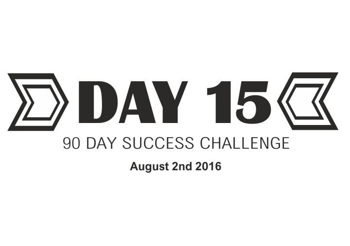90 day success challenge day 15