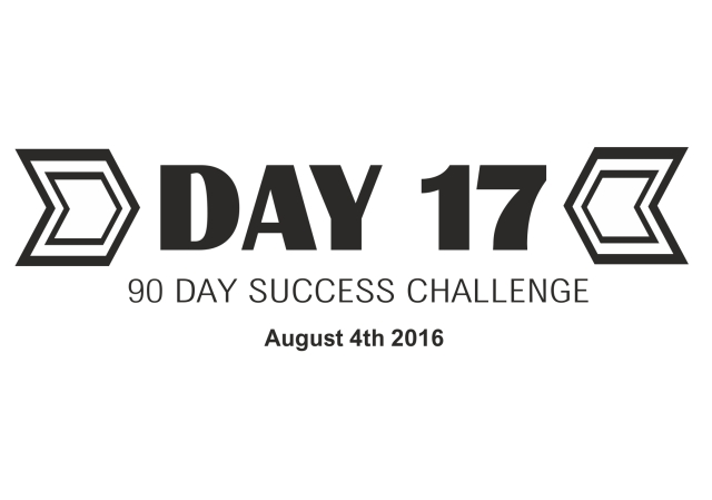 90 day success challenge day 17
