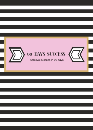 90 day success challenge worksheet cover