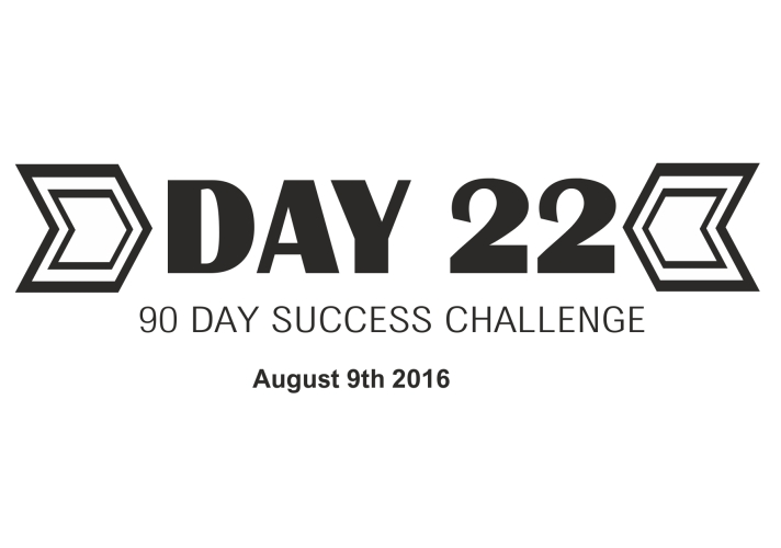 90 day success challenge day 22