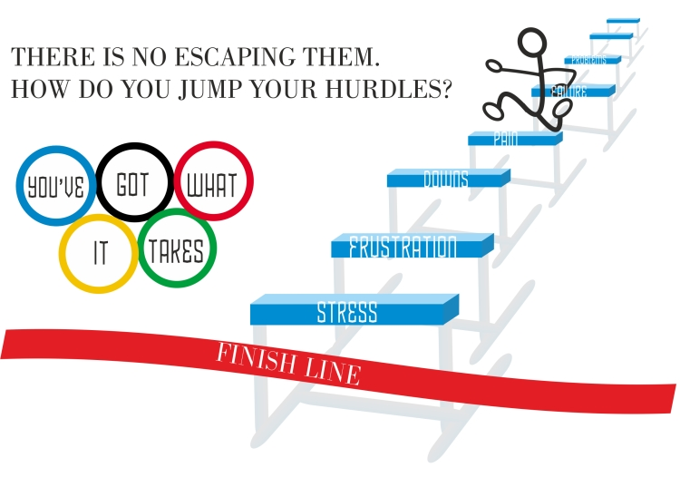 How do you jump your hurdles