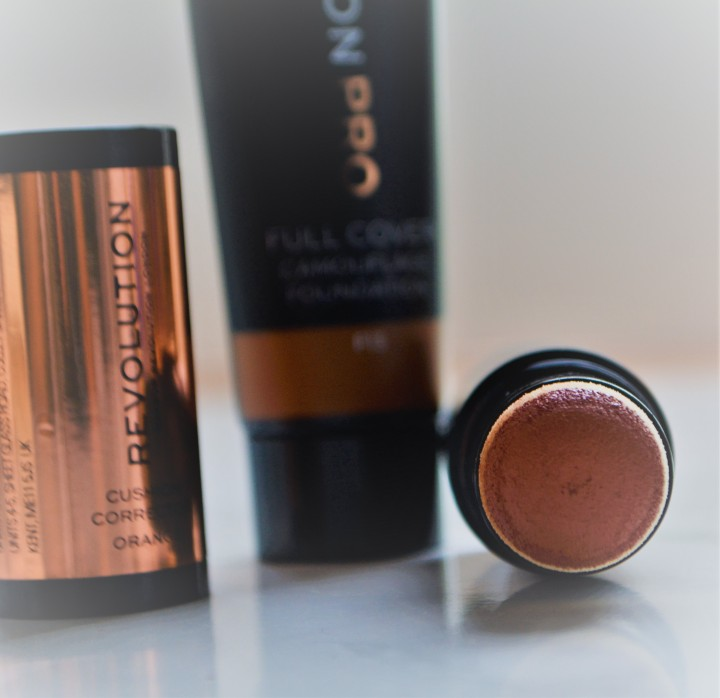pro full coverage and orange corrector 5