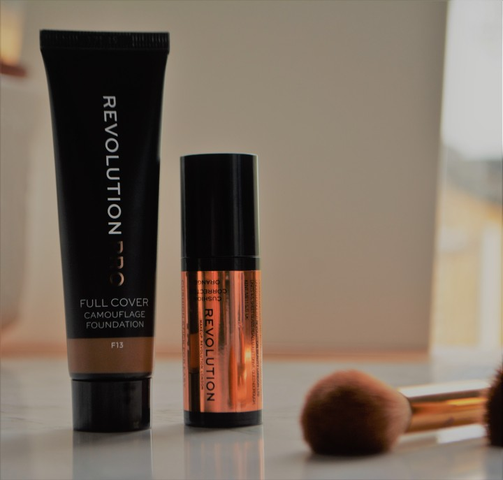 pro full coverage and orange corrector